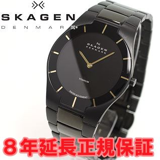 Skagen in SKAGEN watch mens black label BLACK LABEL architect ARCHITECT 585XLTMXB