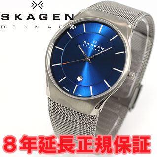 Scar gene SKAGEN watch men titanium TITANIUM titanium 956XLTTN