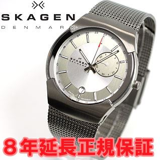 Scar gene SKAGEN watch men black label BLACK LABEL architect ARCHITECT GMT 983XLSSC