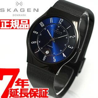 Scar gene SKAGEN watch men titanium TITANIUM titanium T233XLTMN