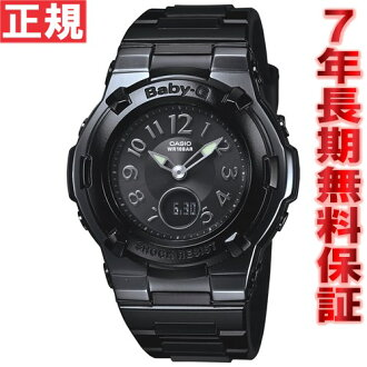 BABY-G Casio baby G electric wave solar clock Lady's watch radio time signal black Jun Hasegawa image character BGA-1110-1BJF