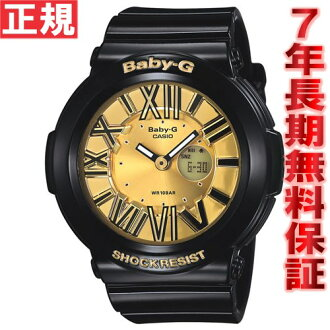 BABY-G Casio baby G neon dial clock Lady's watch ブラックアナデジ BGA-160-1BJF