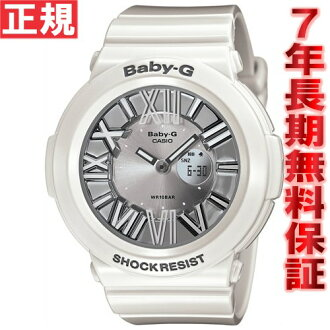 Baby-g Casio baby G neon Dial Watch ladies watch white whole length tanigawa 潤イ e-mail-ジキャ Lac ter BGA-160-7B1JF