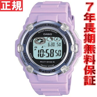 Baby-g Casio baby G Tripper Tripper radio solar watch women's radio wave clock purple long Tanikawa j. BGR-3003-6JF
