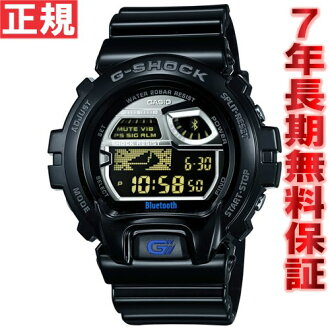 Casio G-Shock CASIO G-SHOCK watch men smartphone wireless communication function deployment model digital black GB-6900AA-1JF for Bluetooth