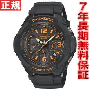 CASIOG-SHOCKSKYCOCKPITソーラー電波時計カシオGショックスカイコックピットGW-3000B-1AJF