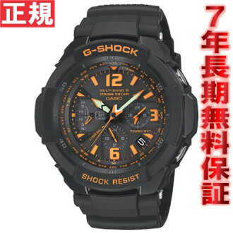 G-shock wave solar watch Casio G-shock cockpit sky GSHOCK SKY COCKPIT CASIO GW-3000B-1AJF black