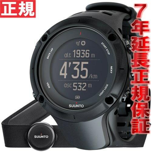 スント アンビット3 ピーク ブラック (HR) SUUNTO AMBIT3 PEAK BLACK (HR) 腕時計 Bluetooth搭載 GPSウォッチ SS020674000 [正規品][送料無料][7年延長正規保証][ラッピング無料]