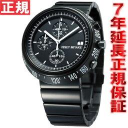 イッセイミヤケ ISSEY MIYAKE 腕時計 メンズ TRAPEZOID トラペゾイド クロノグラフ 深澤直人デザイン SILAZ001
