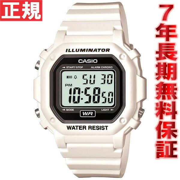 カシオ CASIO スタンダード 限定モデル 腕時計 メンズ ホワイト デジタル F-108WHC-7AJF