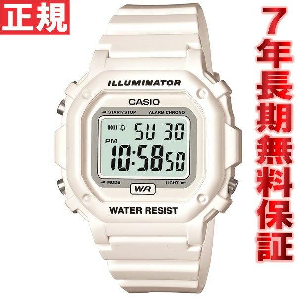カシオ CASIO スタンダード 限定モデル 腕時計 メンズ ホワイト デジタル F-108WHC-7BJF