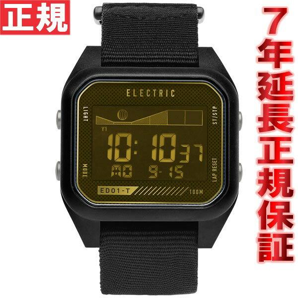 エレクトリック ELECTRIC 腕時計 ED01-TNATO ALL BLACK/BRASS ED1TN2-ABB [正規品][送料無料][7年延長正規保証][ラッピング無料] 対応