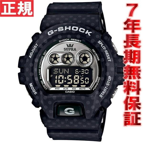 カシオ Gショック CASIO G-SHOCK SUPRA スープラ コラボ 限定モデル 腕時計 メンズ ブラック デジタル GD-X6900SP-1JR【カシオ Gショック 2015 新作】【正規品】【送料無料】【5年長期無料保証】【楽ギフ_包装】