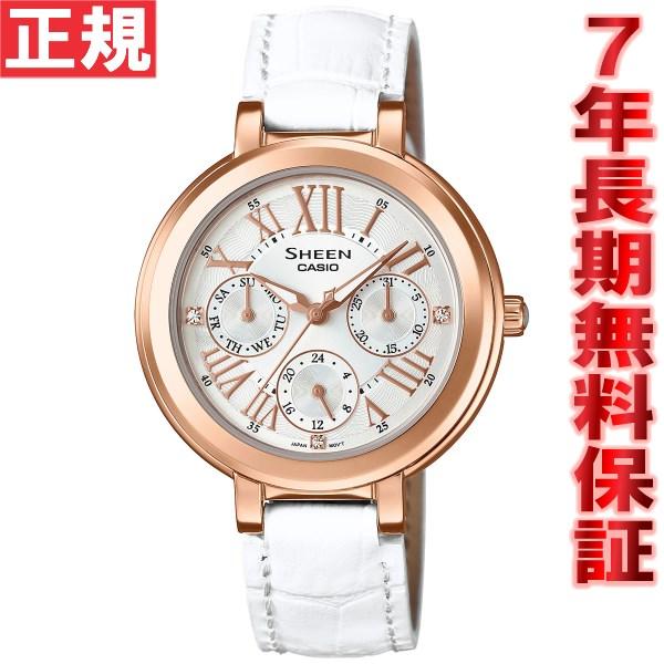 カシオ シーン CASIO SHEEN 限定モデル 腕時計 レディース アナログ SHE-3034GLJ-7AJF【2016 新作】 [正規品][送料無料][7年長期無料保証][ラッピング無料]