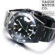 ヴァーグウォッチ VAGUE WATCH Co. 腕時計 BLK SUB(ブラックサブ) ミリタリー BS-L-001-SB【ヴァーグウォッチ BS-L-001-SB 2016 新作】【正規品】【送料無料】【サイズ調整無料】