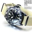ヴァーグウォッチ VAGUE WATCH Co. 腕時計 BLKSUB(ブラックサブ) ミリタリー BS-L-001【正規品】