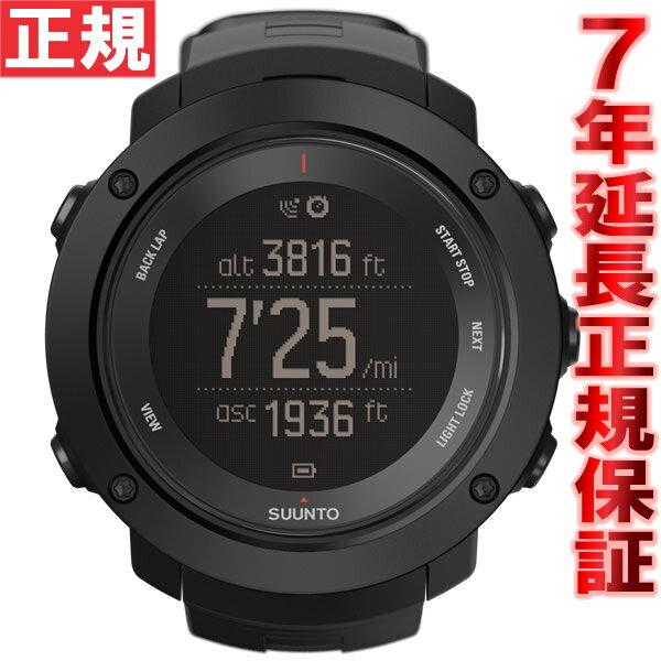 【2000円OFFクーポン!11月27日12時59分まで!】スント アンビット3 バーティカル ブラック SUUNTO AMBIT3 VERTICAL BLACK GPSウォッチ Bluetooth搭載 腕時計 SS021965000