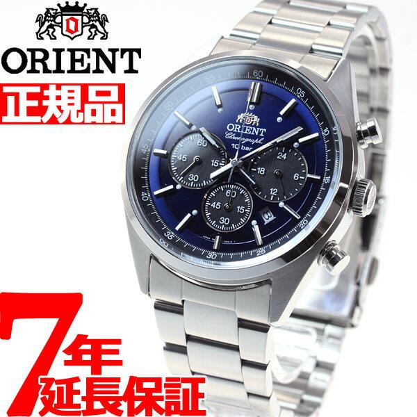 オリエント ネオセブンティーズ ORIENT Neo70's ソーラー 腕時計 メンズ クロノグラフ WV0021TX【2016 新作】 [正規品][送料無料][7年延長正規保証][ラッピング無料][サイズ調整無料]