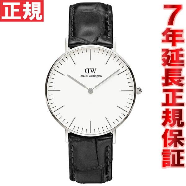 ダニエルウェリントン DANIEL WELLINGTON 腕時計 メンズ/レディース クラシック リーディング CLASSIC READING シルバー 36mm 0613DW(DW00100058)