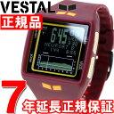 【500円OFFクーポン!8月24日23時59分まで!】ベスタル VESTAL WATCH 腕時計 メンズ ザ・ブリッグ THE BRIG 14Kゴールド デジタル ヴェスタル BRGOLD05