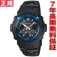 カシオ Gショック CASIO G-SHOCK 電波 ソーラー 電波時計 腕時計 メンズ アナデジ タフソーラー ブラック×ブルー AWG-M100BC-2AJF【あす楽対応】【即納可】