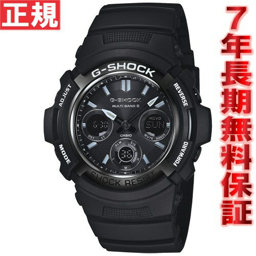 G-SHOCK G-Shock Casio electric wave solar watch men radio time signal ガリッシュブラックアナデジ AWG-M100BW-1AJF
