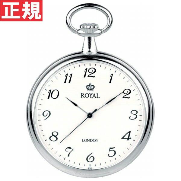 先着!最大9万円OFFクーポンは15日0時から!ロイヤルロンドン ROYAL LONDON 懐中時計 ポケットウォッチ オープンフェイス 90014-01