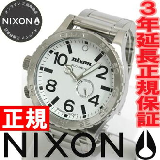 NIXON 51-30 Nixon NIXON THE 51-30 watch men's White NA057100-00 tide features