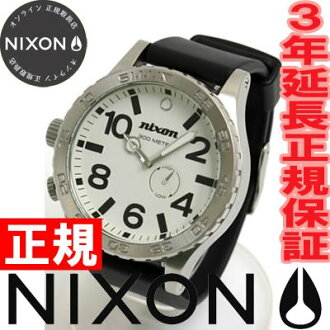 NIXON 51-30 Nixon watches men's PU white NA058100-00 tied with