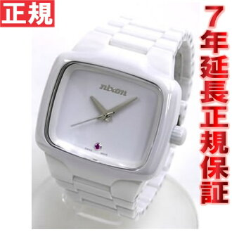 Nixon ceramic player NIXON PLAYER elite class ceramic player watch white NA145126-00