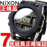 ニクソン NIXON ユニット UNIT 腕時計 メンズ ブラックマルチスポックル NA1972300-00【NIXON ニクソン NA1972300-00 2016 新作】【正規品】【送料無料】【7年延長正規保証】