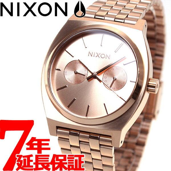 ニクソン NIXON タイムテラーデラックス TIME TELLER DELUXE 腕時計 メンズ/レディース オールローズゴールド NA922897-00【2016 新作】 [正規品][送料無料][7年延長正規保証][ラッピング無料][サイズ調整無料]