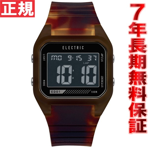 エレクトリック ELECTRIC 腕時計 メンズ/レディース ED01 PU CLASSIC TORTISE ED1P2-CLTT [正規品][送料無料][7年延長正規保証][ラッピング無料]