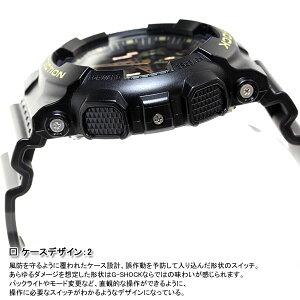 GA-100CF-1A9JFカシオGショックCASIOG-SHOCKカモフラージュダイアル腕時計メンズブラックアナデジGA-100CF-1A9JF