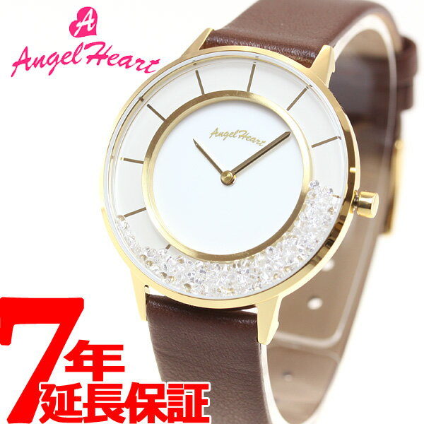 エンジェルハート Angel Heart 限定モデル 腕時計 レディース ラブグリッター Love Glitter LG36Y-BR【2016 新作】 [正規品][送料無料][7年延長正規保証][ラッピング無料]【兵庫県】