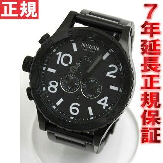 Nixon NIXON 51-30 CHRONO Nixon 51-30 Chrono Black Watch NA083001-00