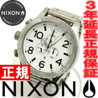 NIXON 51-30 Chrono Watch, Nixon NIXON 51-30 Chrono NA083100-00 white