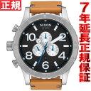 ニクソン NIXON 51-30クロノレザー 51-30 CHRONO LEATHER 腕時計 メンズ クロノグラフ NA1242299-00 正規品 送料無料! ラッピング無料!
