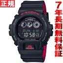 カシオ Gショック CASIO G-SHOCK 電波ソーラー 腕時計 メンズ ブラック&レッド GW-6900HR-1JF 正規品 送料無料! ラッピング無料! あす楽対応