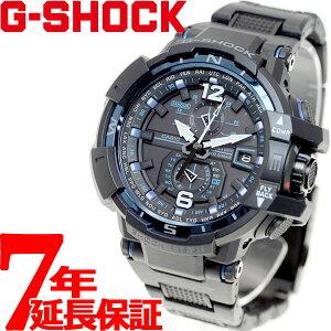 カシオGショックスカイコックピットCASIOG-SHOCKSKYCOCKPIT電波ソーラー電波時計腕時計メンズブラックアナログタフソーラーGW-A1100FC-1AJF