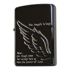 Zippo Angel Wing Black Paw