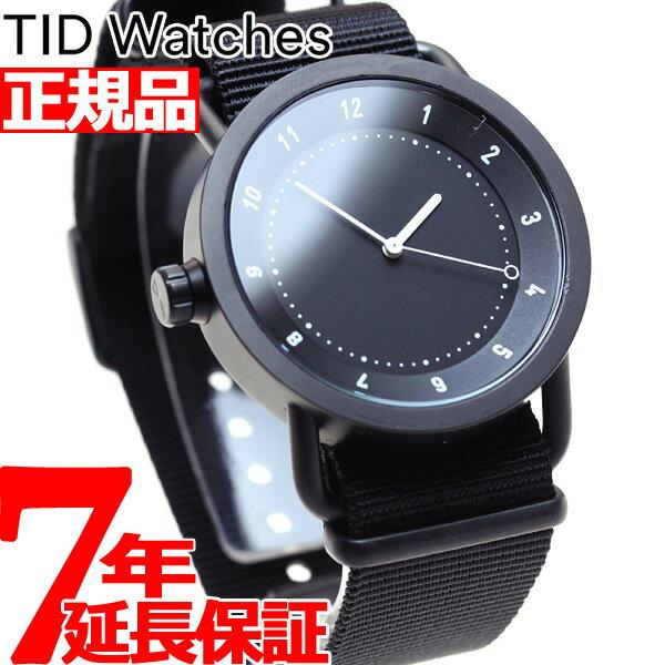 ティッド ウォッチズ TID Watches 腕時計 メンズ/レディース No.1 コレクション TID01-BK/NBK [正規品][送料無料][7年延長正規保証][ラッピング無料]