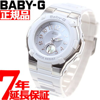 Baby-g Casio baby G radio solar watches ladies watch radio watch white long tanigawa 潤イ e-mail-ジキャ Lac ter BGA-1100-7BJF
