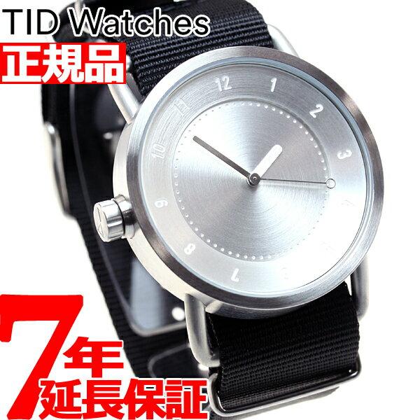 ティッドウォッチズ TID Watches 腕時計 メンズ/レディース ティッドウォッチ No.1 コレクション TID01-SV/NBK【2016 新作】【対応】【即納可】 [正規品][送料無料][7年延長正規保証] 対応