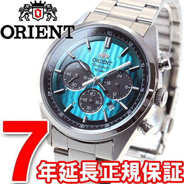 オリエント ネオセブンティーズ ORIENT Neo70's クリスマス限定モデル ソーラー 腕時計 メンズ クロノグラフ WV0051TX【2016 新作】【あす楽対応】【即納可】