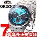 オリエント ネオセブンティーズ ORIENT Neo70's 限定モデル ソーラー 腕時計 メンズ クロノグラフ WV0051TX【2016 新作】【あす楽対応】【即納可】