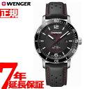 ウェンガー WENGER 腕時計 メンズ ロードスター ブラ...