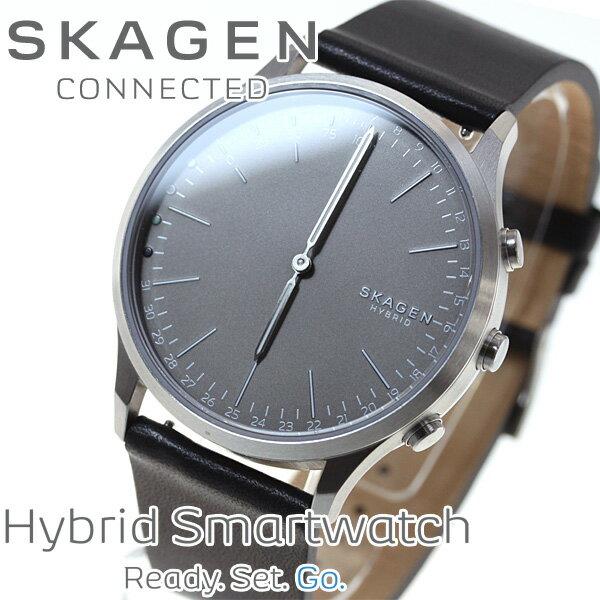 スカーゲン SKAGEN ハイブリッド スマートウォッチ ウェアラブル 腕時計 メンズ JORN CONNECTED SKT1203【2017 新作】