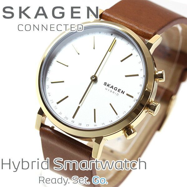 スカーゲン SKAGEN ハイブリッド スマートウォッチ ウェアラブル 腕時計 レディース HALD CONNECTED SKT1206【2017 新作】【あす楽対応】【即納可】