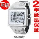 エプソン スマートキャンバス EPSON smart canvas Mickey Mouse ヴィンテージシリーズ グレー 腕時計 メンズ レディース W1-DY10120